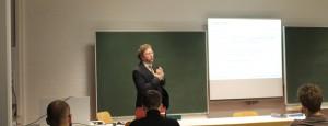 PIC Geschäftsführer Patentanwalt Detlef Brandt referiert an der Hochschule Ostwestfalen-Lippe